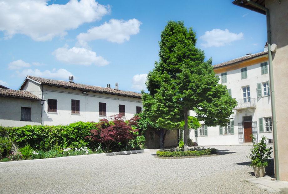 Il cortile interno Casarovelli