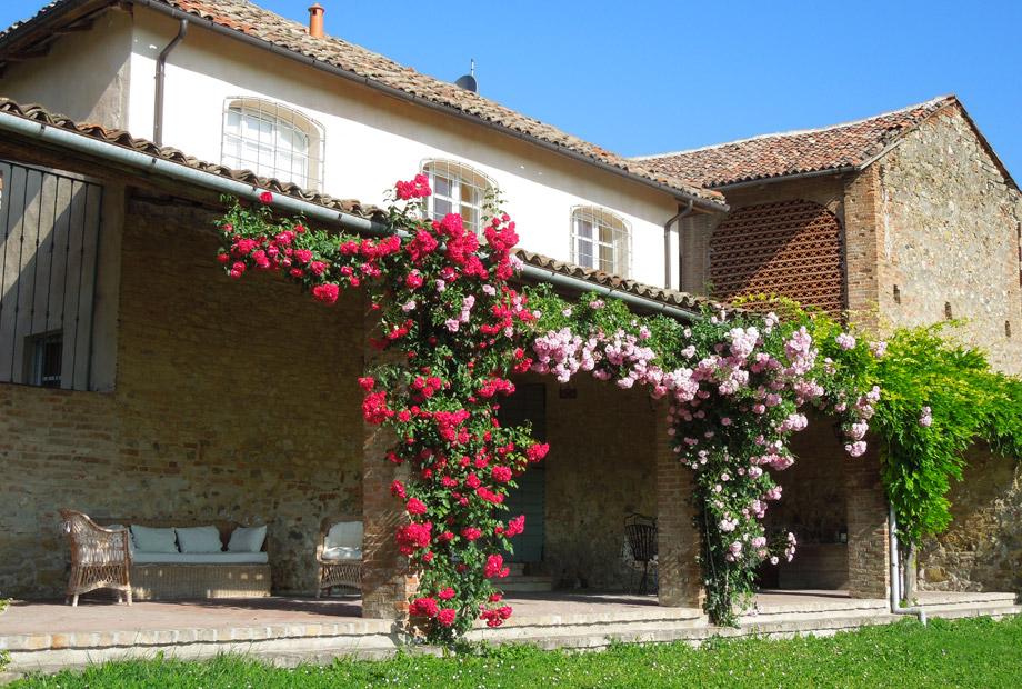 Il portico fiorito Casarovelli
